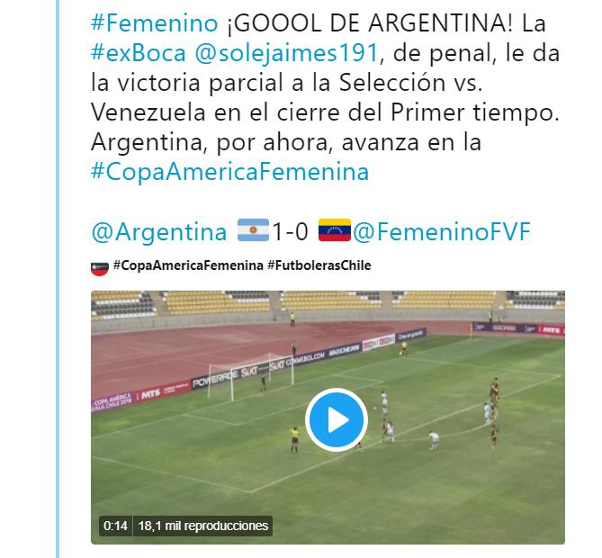 Selección Peruana Femenina perdió 5-0 con Chile en la Copa América