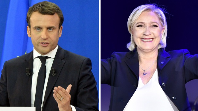 Atacan con huevos a Le Pen en su llegada a una fábrica