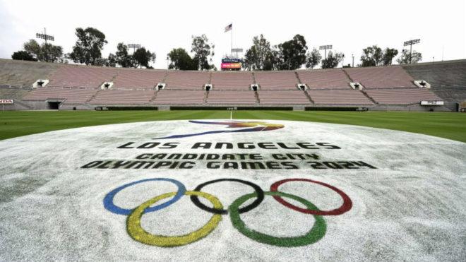 Candidatura olímpica de LA exhibe planes ante el COI