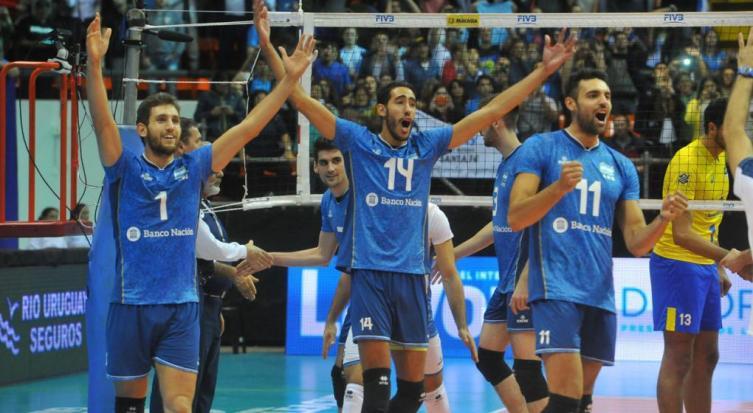 Argentina cerró el weekend con un triunfo ante Bulgaria