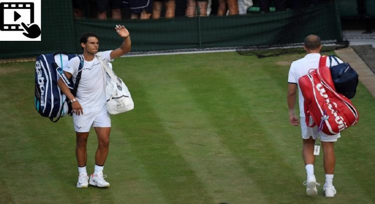Federer pasó a semifinal y Djokovic abandonó por lesión — Wimbledon