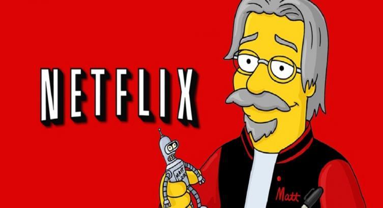 El creador de Los Simpsons producirá una serie para Netflix