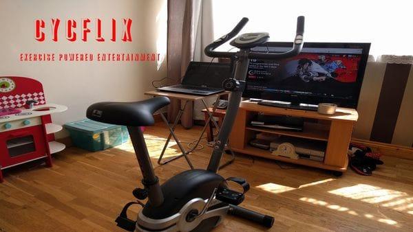 La bicicleta que combina tus series favoritas con el ejercicio — Cycflix