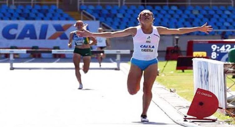 Argentina Casetta pasa a final de 3000 obstáculos en Mundial