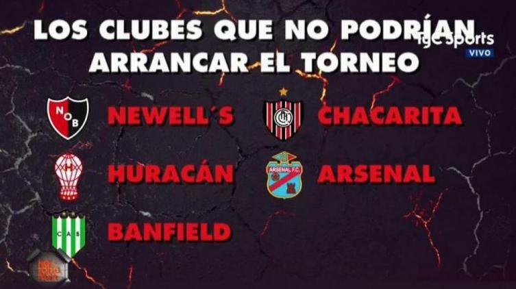 Se presenta en sociedad la Superliga argentina