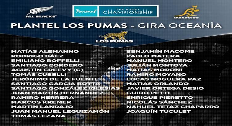 Hourcade dio la lista de Los Pumas con cinco tucumanos