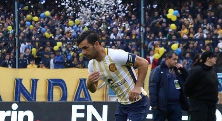 Con un gol de Zampedri Rosario Central avanzó en la Copa Argentina