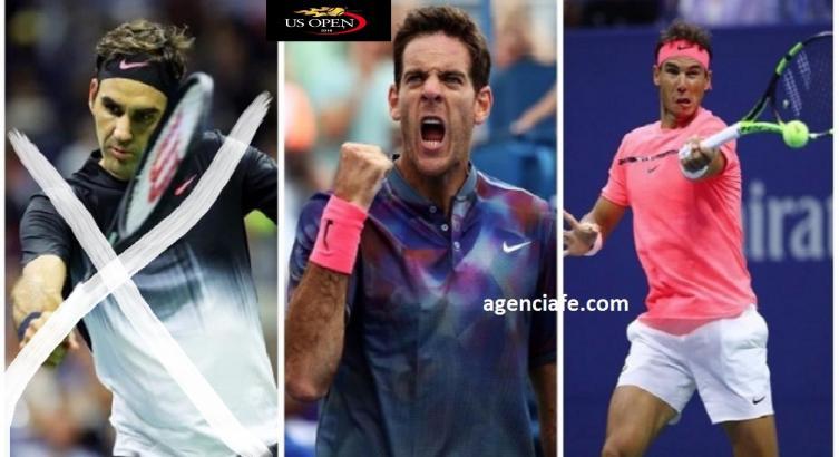 Federer avanza a cuartos del US Open y enfrentará a Del Potro