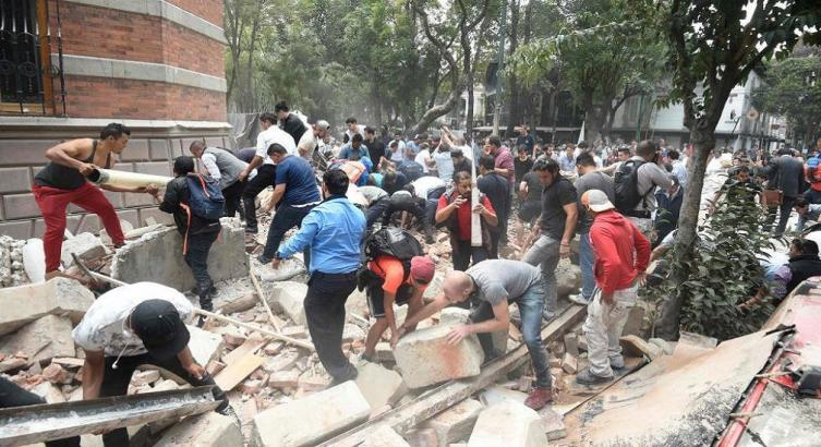 Aumenta a 149 la cifra de muertos por sismo en México