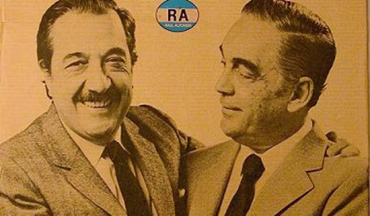 Falleció Víctor Martínez, el vicepresidente de Raúl Alfonsín