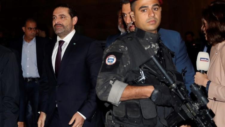 Ex premier regresó para discutir sobre su dimisión — Líbano