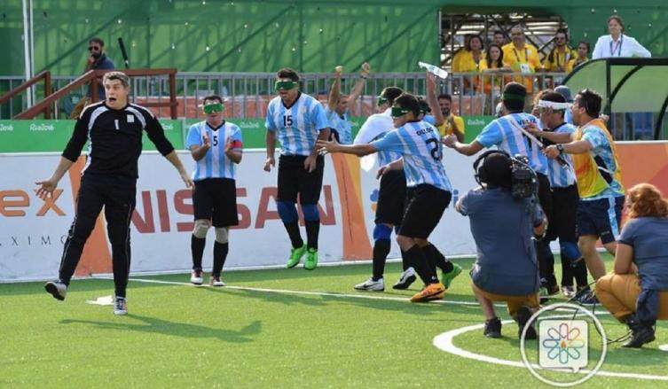 Argentina, Campeón de América — Fútbol para ciegos
