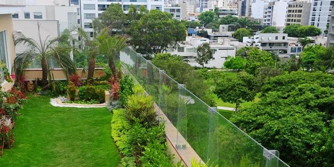 Las Terrazas Verdes Son Una Solución A Muchos Problemas