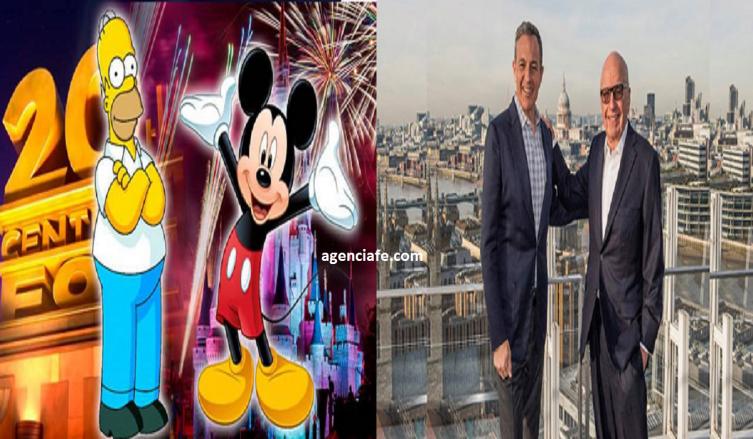 Compraventa de Disney a 21st Century Fox, megafusión de entretenimiento