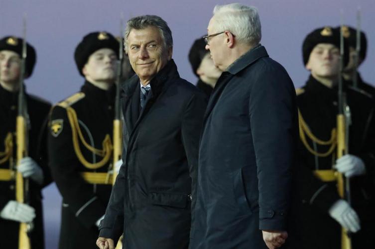 Macri llegó a Rusia y arranca su gira exprés por Europa