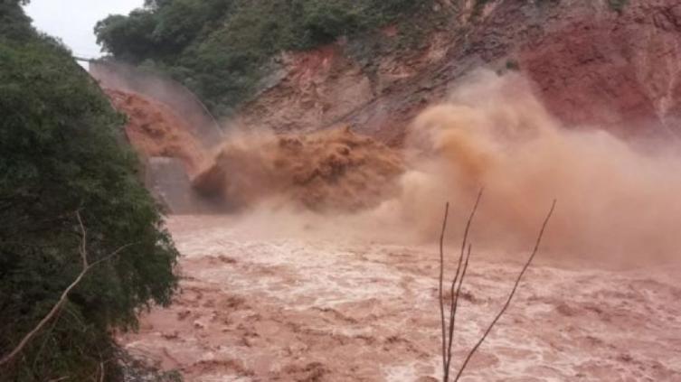 Las lluvias descontrolan el río Pilcomayo