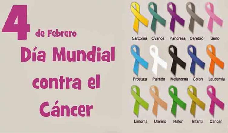 4 de febrero: Día mundial de la lucha contra el cáncer