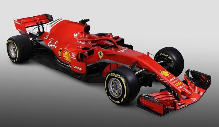 Ferrari y Mercedes presentaron sus modelos 2018