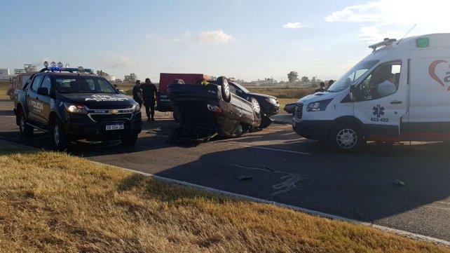 Un muerto y un herido grave en la autopista