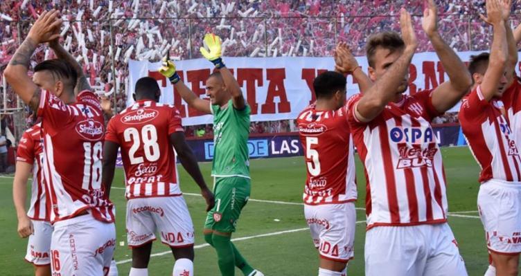 Unión goleó a Temperley — Superliga de AFA