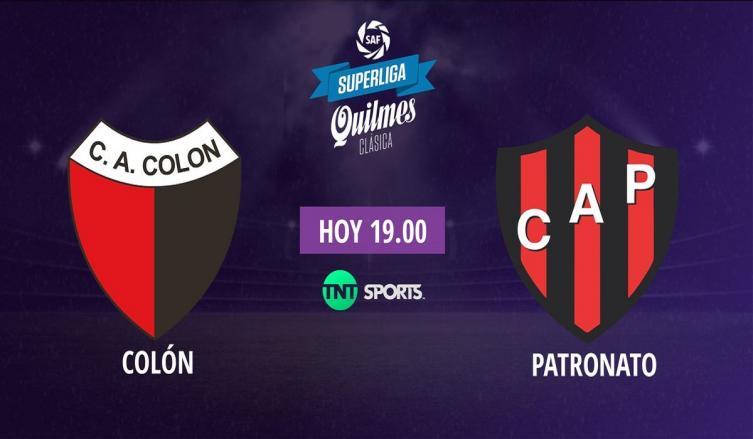 Horario, TV y formaciones — Colón-Patronato