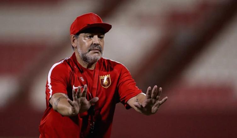 Al Fujairah confirmó la salida de Diego Maradona