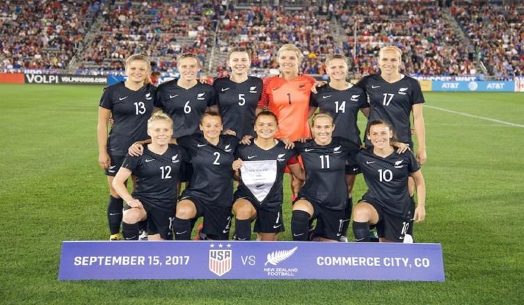 Igualdad salarial en selecciones masculina y femenina de fútbol — Nueva Zelanda