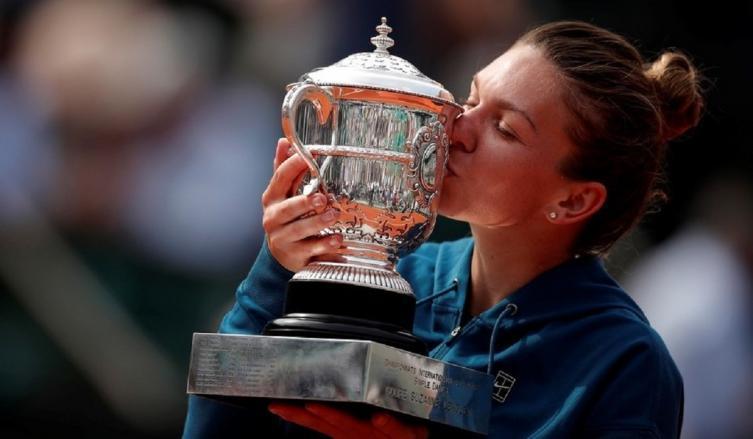 Halep se llevó el título de Roland Garros