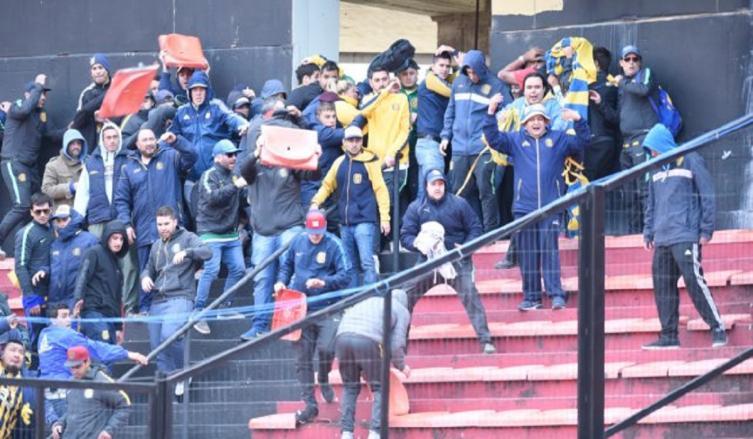 Colón empató con Rosario Central — Copa Santa Fe