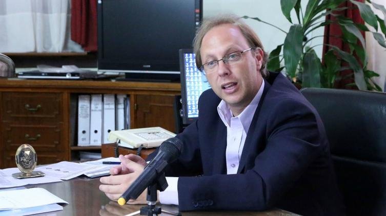 Ministro de Economía, Gonzalo Saglione