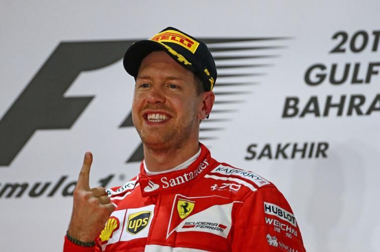 Vettel será el primer piloto de Ferrari