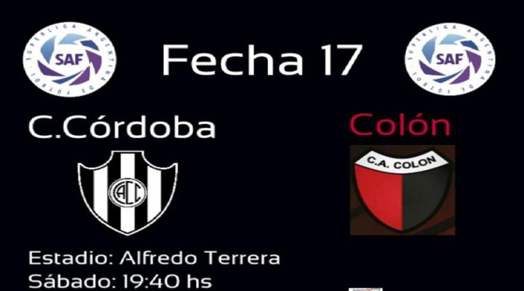 Central Córdoba vs. Colón: horario, tv y formaciones ...