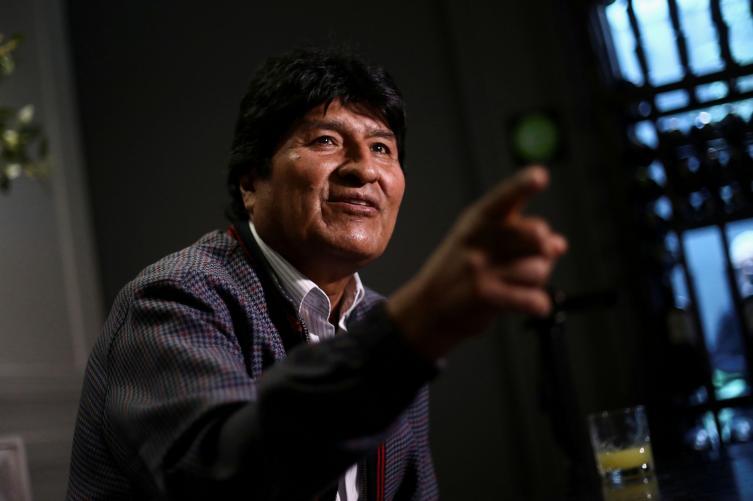 Evo Morales abandonó la Argentina