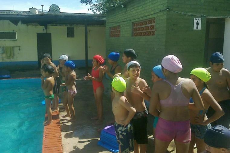 Paraje El Chaquito: los chicos se quedaron sin pileta